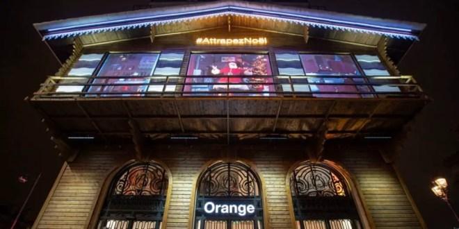 Le Père Noël a élu domicile à la Boutique Orange Opéra avec ARC
