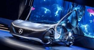 Mercedes-Benz s'inspire d'Avatar pour présenter ses technologies du futur