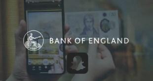 Snapchat x Bank of England pour le nouveau billet de 20£