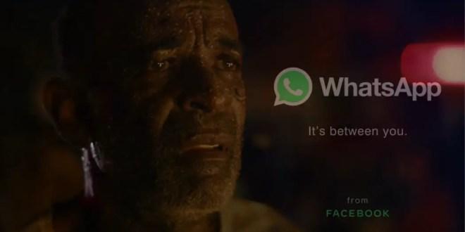 BBDO Brésil et WhatsApp signent un émouvant court métrage