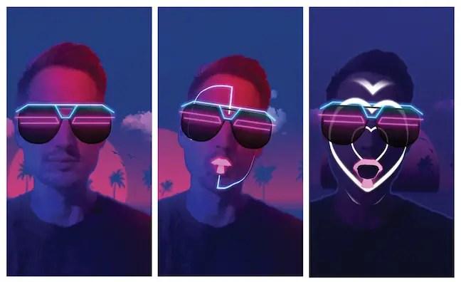 Filtre réalité augmentée Fracebook