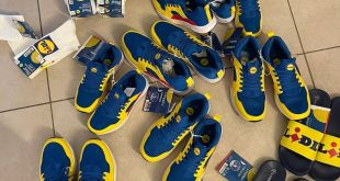 baskets-lidl-rouge-bleu-jaune-jambes