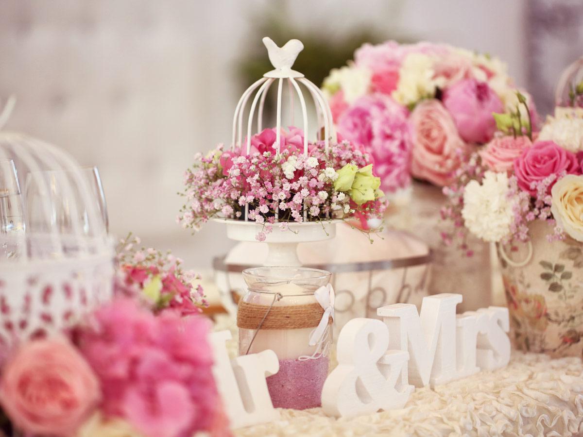 Hochzeitsdekoration  Geschenke und Anregungen finden