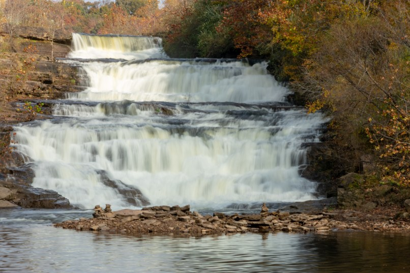 Midwest waterfall