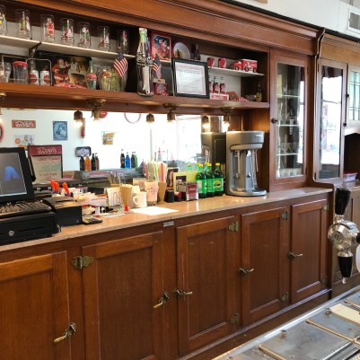 soda fountain bar