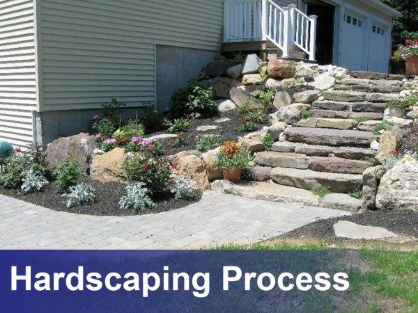 landscape design hardscaping