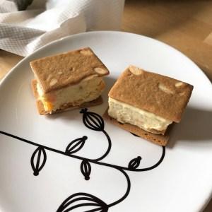 sandwichs à la glace vanille