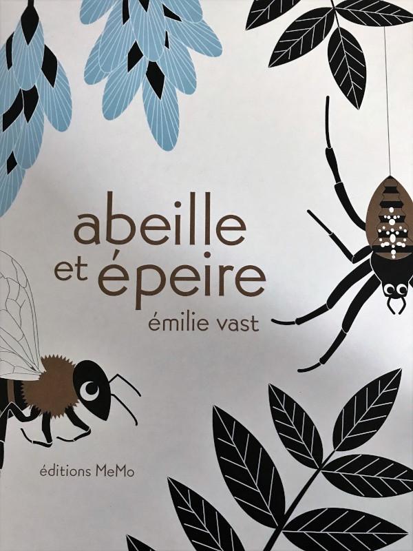 abeille et épeire
