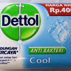 Dettol Anti-Bacterial Hand and Body Bar Soap, Cool