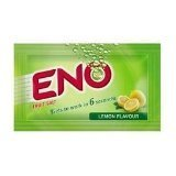 ENO Fruit Salt Fast Refreshing Relief Original Lemon Regular 3 Sachets by Eno