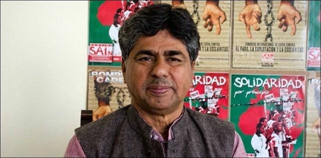 El activista indio Rajagopal P.V. visita Valladolid este lunes