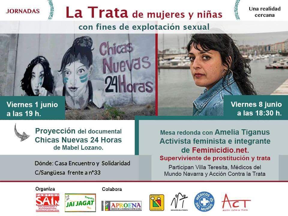 Pamplona: La trata de mujeres y niñas con fines de explotación sexual