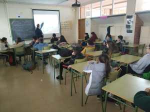 Taller de noviolencia para colegios. Presentación Jai Jagat