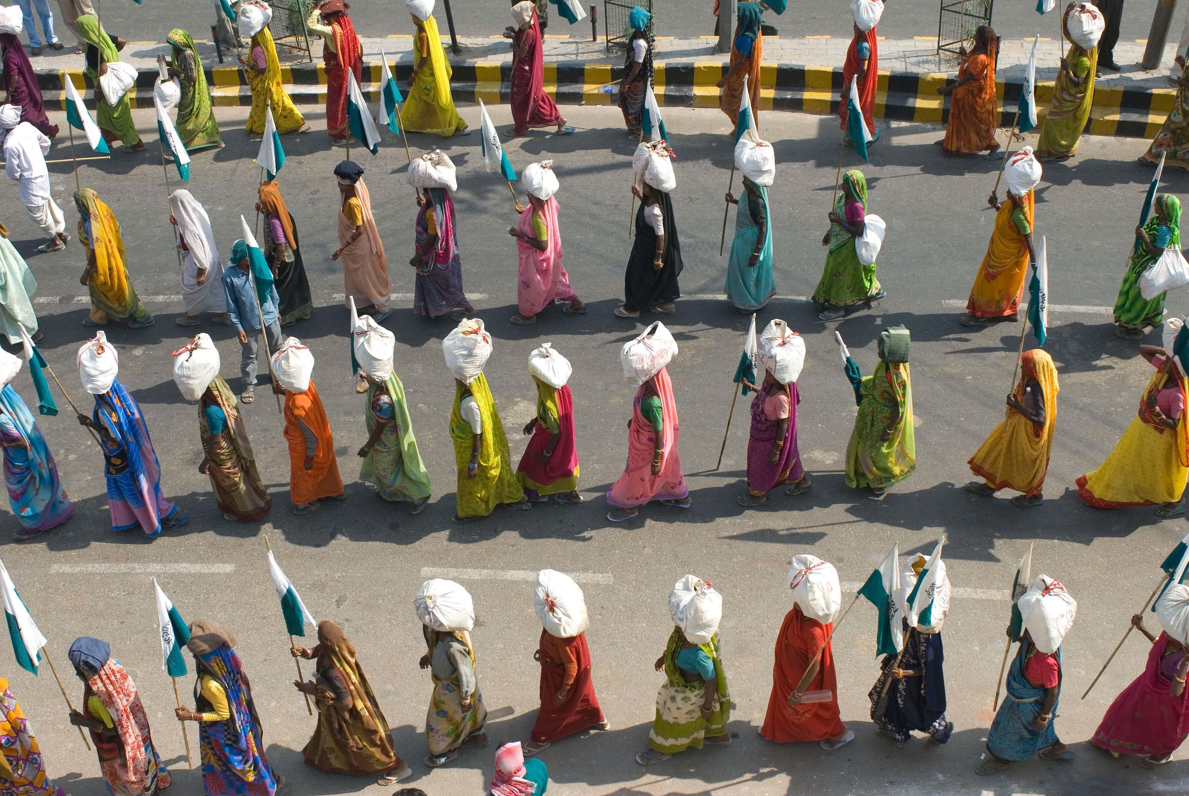 Profundizando en el planteamiento práctico de Ekta Parishad