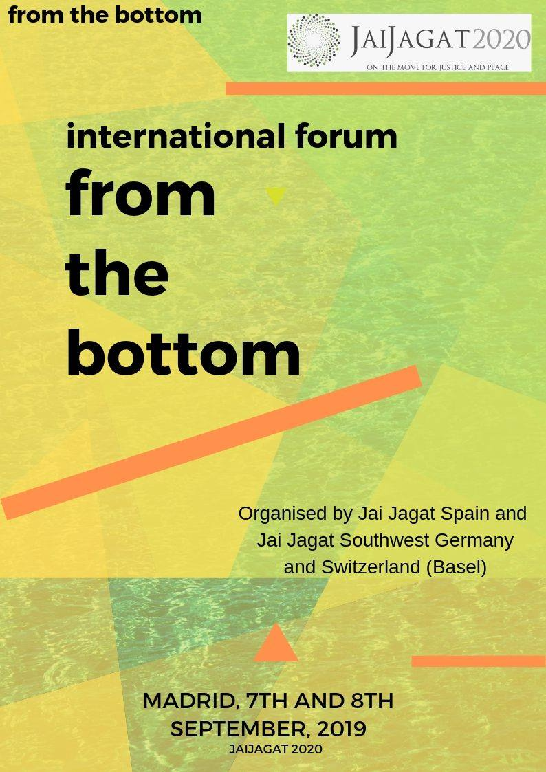Program: forum from the bottom