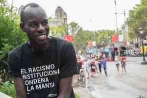 Foro internacional desde abajo. Participantes: Lamine Bathily (Sindicato de Manteros de Barcelona)