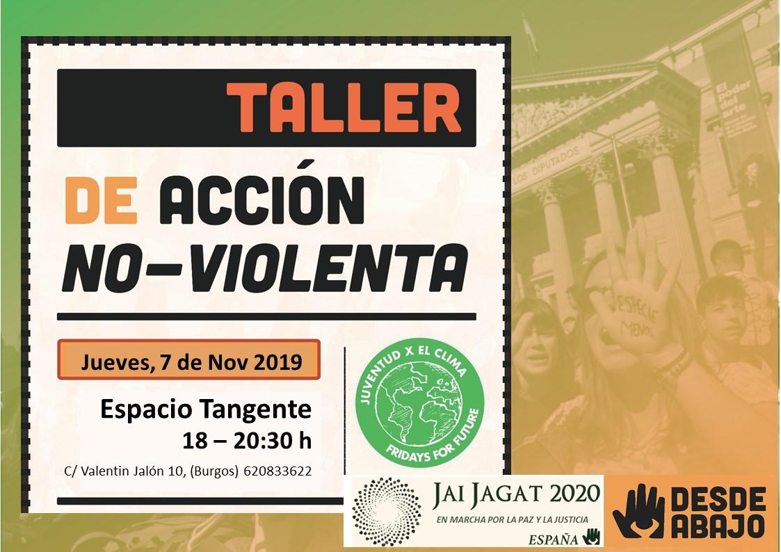 Burgos. Taller de acción noviolenta
