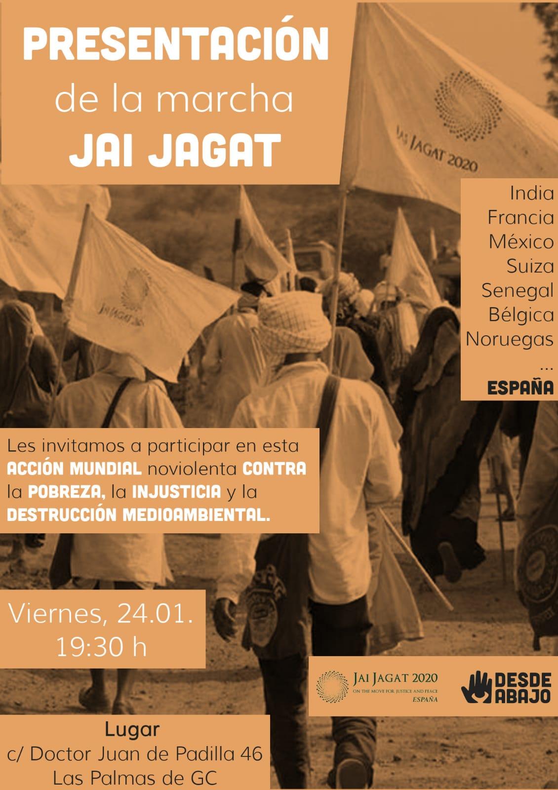 Canarias. Presentación Jai Jagat 2020