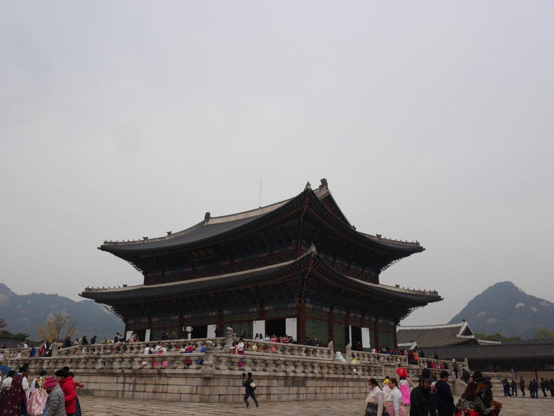 Gyeongbokgung palais Séoul