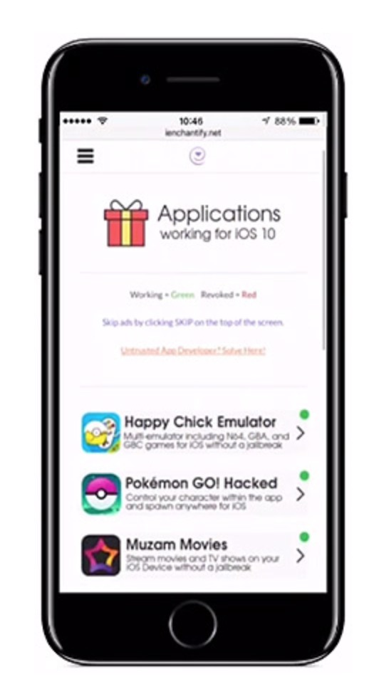 Download iEnchantify 6.0 for iOS 11 IPA and Install
