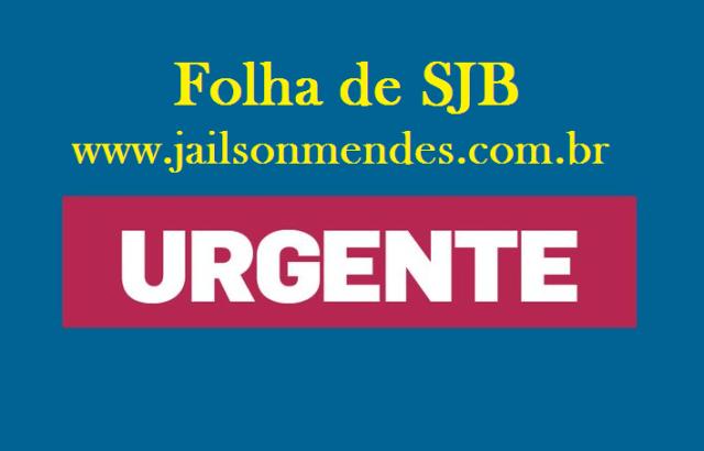 Urgente: homem recebe três tiros no povoado Centrinho, em São João Batista – Jailson Mendes
