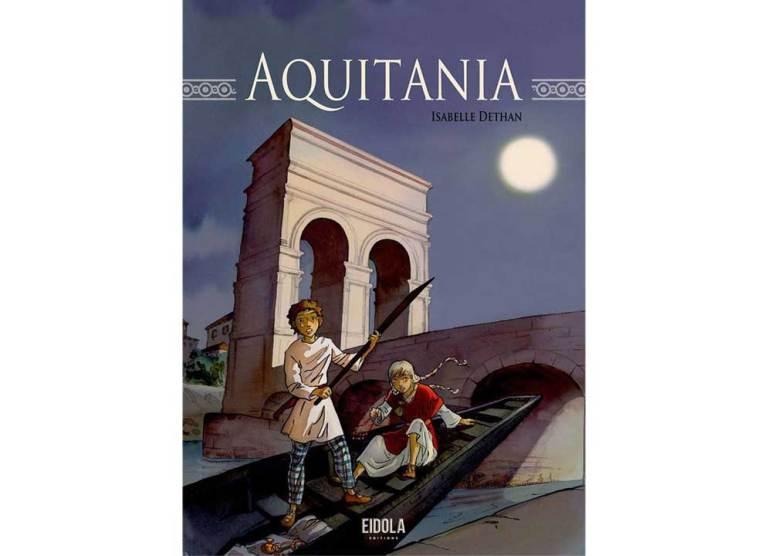 Isabelle Dethan : sortie de son dernier livre « Aquitania » et séance de dédicace