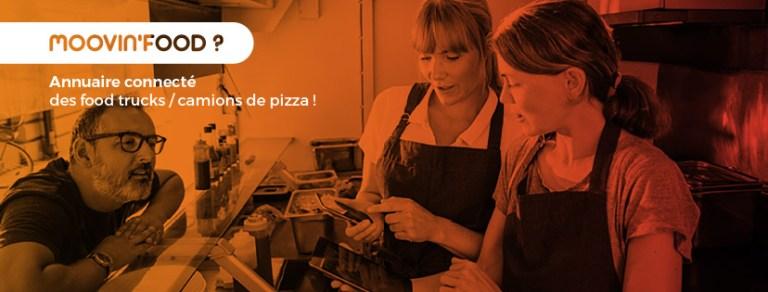 Moovin'Food : une application pour trouver un food truck près de chez soi !