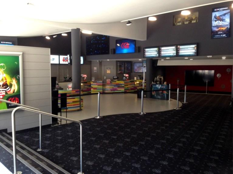 CGR Angoulême : 5€ la place de cinéma avec votre ticket de stationnement