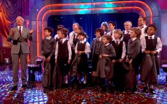 Appearing live with the Matilda The Musical Cast, on ITV's Paul O'Grady Show, May 2014