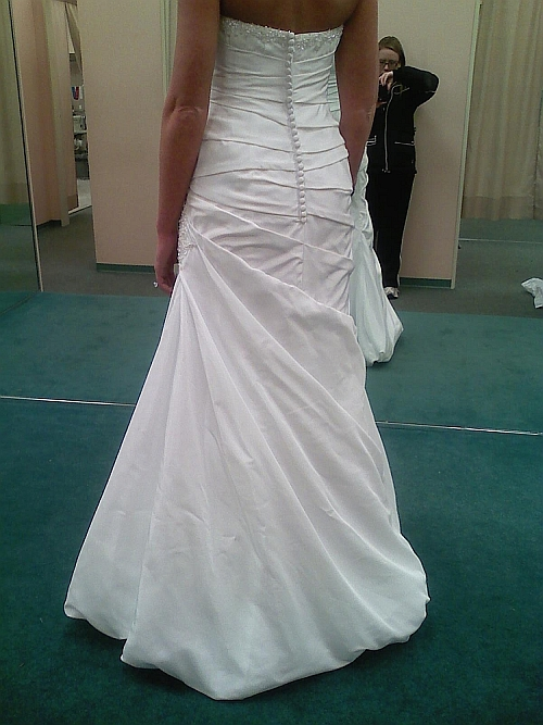 Bustle On Wedding Dress