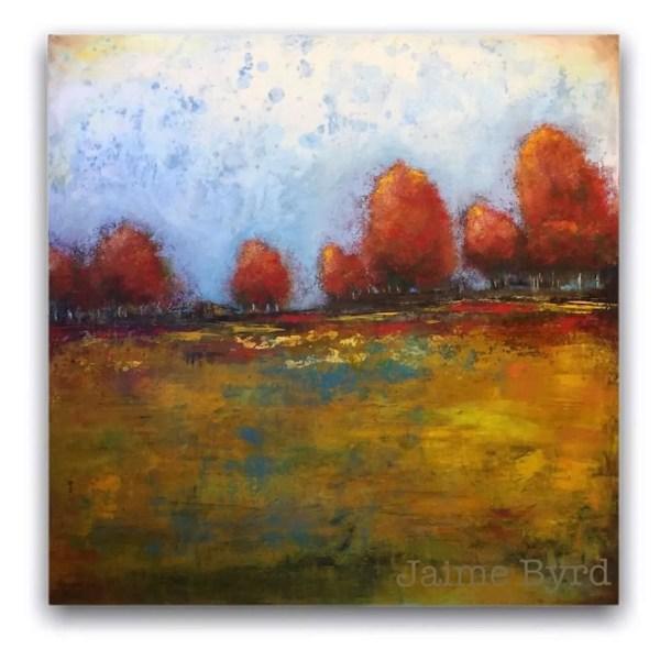 Breath of Autumn Landscape oil painting