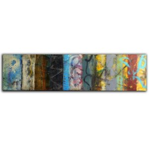 Family History Modern Abstract Oil and Cold Wax painting