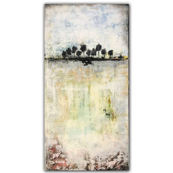 Inside Outside - Abstract Landscape Art Oil Painting