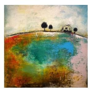 Living Off The Land - Modern Art Oil Painting