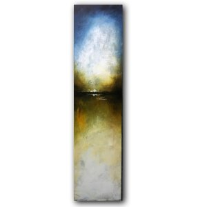 Reflections No. 3 contemporary abstract oil painting