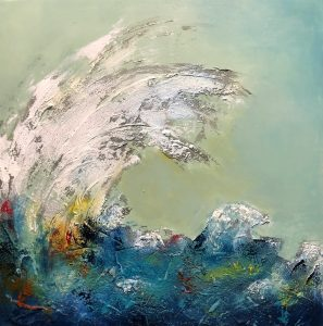 The Wave No. 2 contemporary art oil painting
