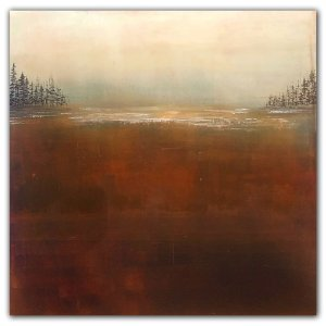 The Calm - Jaime Byrd Oil landscape painting