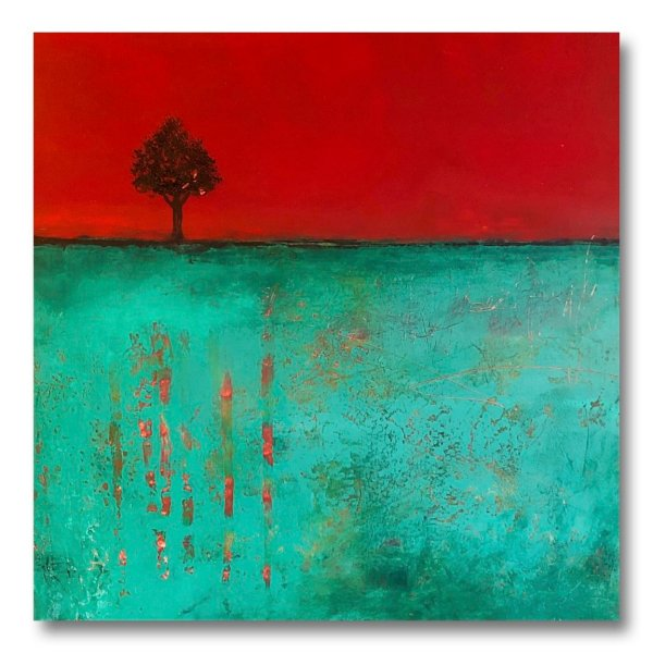 Dreaming Of Spring - Contemporary art by Jaime Byrd