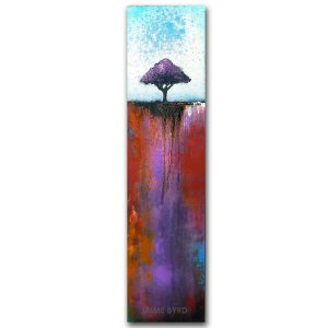 Good Change - abstract landscape oil and cold wax painting by Jaime Byrd