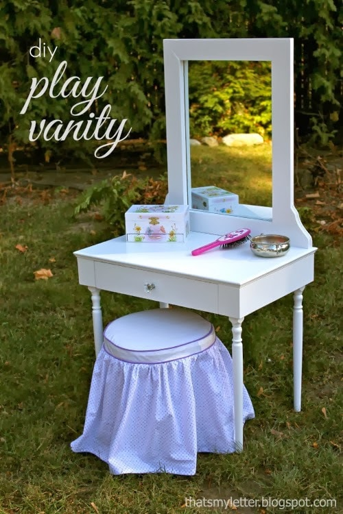 diy kids play vanity jaime costiglio