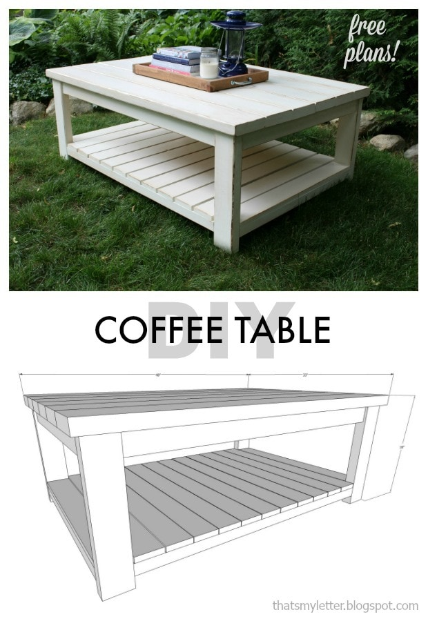 Habitat Coffee Table Free Plans