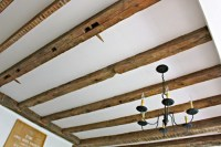 Ceiling Makeover: How to Expose Wood Beams - Jaime Costiglio