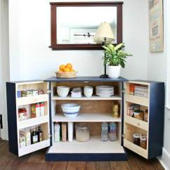 Kitchen Freestanding Pantry Industrial Supplies Diy Cabinet Jaime Costiglio A Tutorial To Build With Free Plans Make Your Functional Accessible Storage And More Counter Space