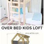 Diy Over Bed Kids Loft Jaime Costiglio