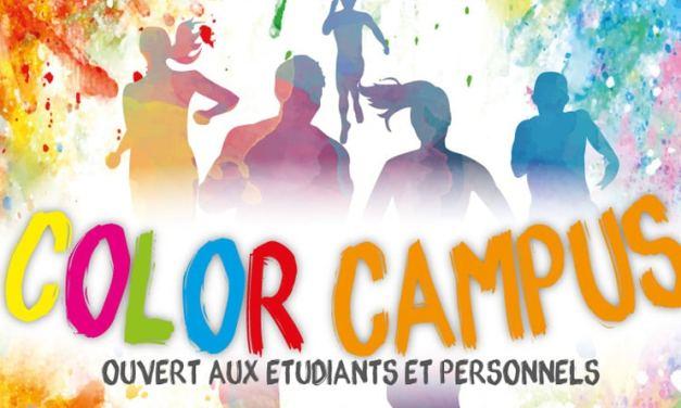 Color Campus Dijon : une course colorée sur le campus de l'Université de Bourgogne