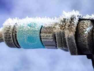 Que faire en cas de canalisation gelée ?