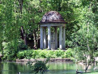 Jardin de l'Arquebuse, photo Christophe Finot