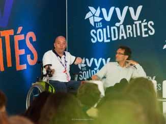 Philippe Croizon et Patrice Bouillot © Christophe Magick! Ribot