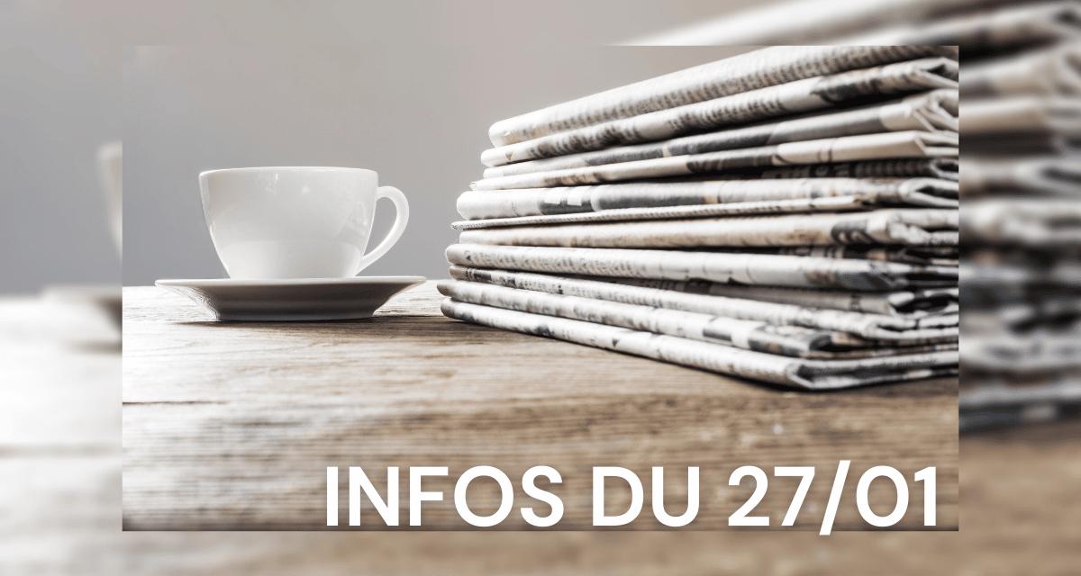 Vyv Festival, affaire Grégory, Elvis, Covid, manifestation, DFCO : l'actu au p'tit déj de ce mercredi 27 janvier 2021