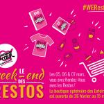 Du vendredi 05 au dimanche 07 mars : c'est le week-end des Restos !